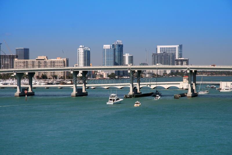 Miami royalty-vrije stock foto
