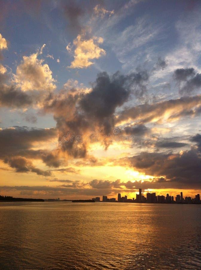 Miami lizenzfreies stockbild
