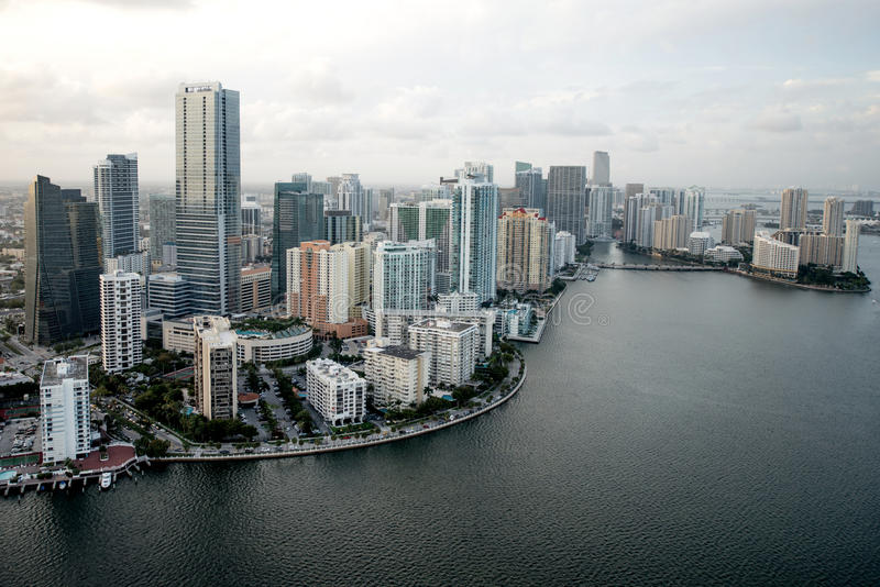 Download Miami from the air stock image. Image of real, city, hotel - 30600947