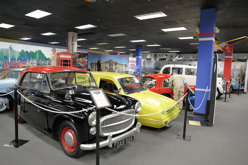Miami Auto Museum at the Dezer Collection of automobiles and related memorabilia. MIAMI, FL, USA - MAY 3, 2017: Stock photo of the Miami Auto Museum at the Dezer stock image