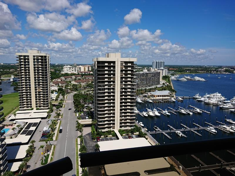 Miami av New York royaltyfri fotografi