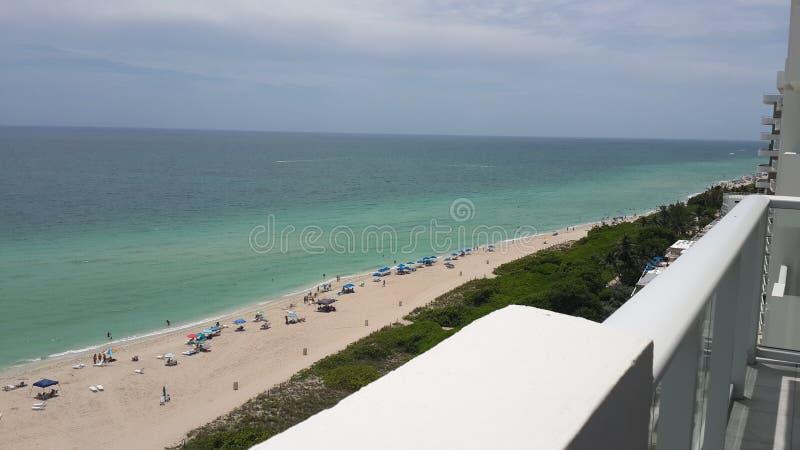 Miami Beach - été 2016 images libres de droits