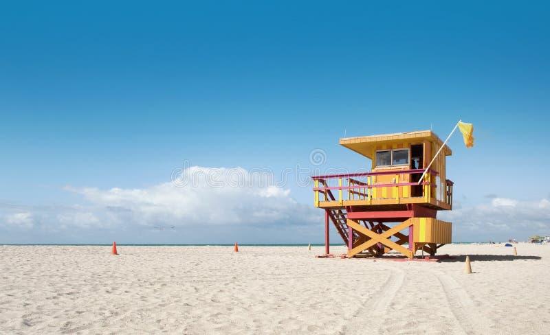 Miami Beach Флорида, дом личной охраны стоковые фото