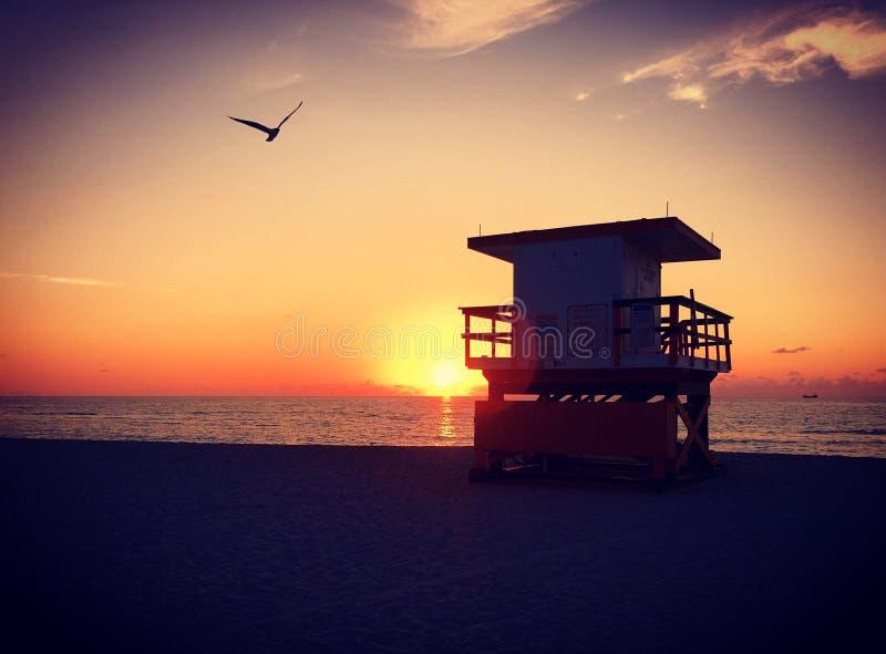 Miami Beach, Флорида, США стоковое изображение