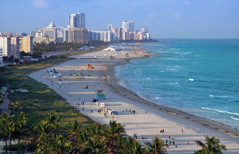 Miami Beach fotografia stock