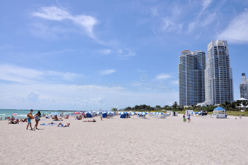 Miami Beach imagem de stock royalty free