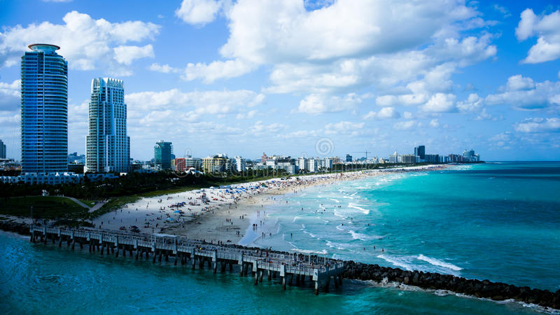 Miami Beach immagine stock
