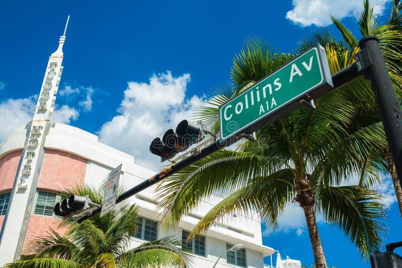 Miami Beach Art Deco image libre de droits