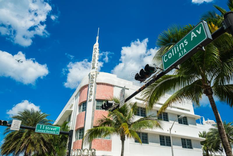 Miami Beach Art Deco photographie stock libre de droits