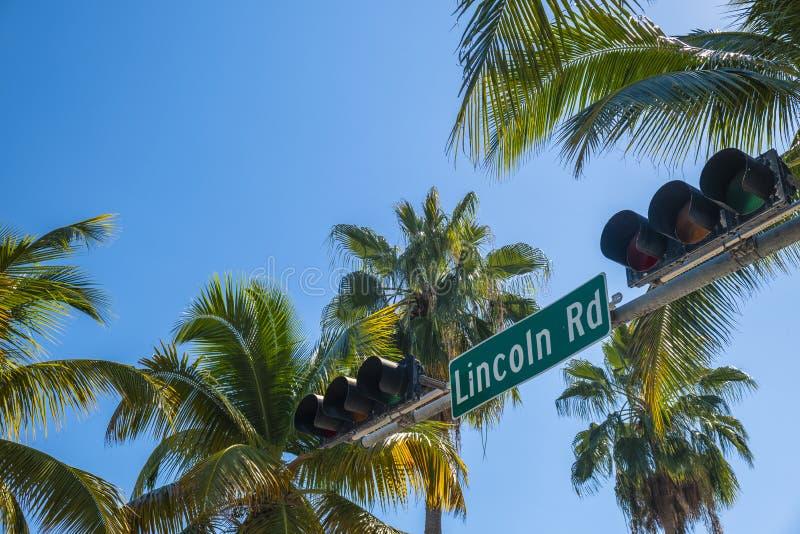 Miami Beach Cityscape stock images