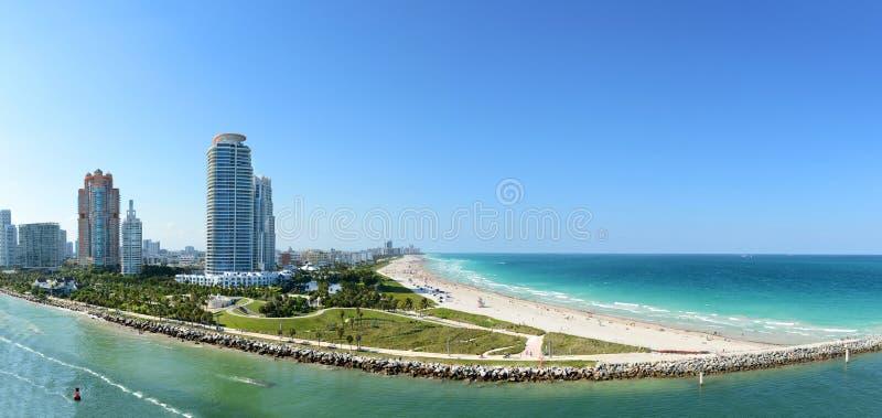 Miami Beach del sur fotos de archivo libres de regalías
