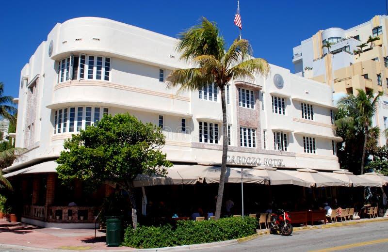 Miami Beach, FL: Cardozo Hotel royalty free stock photography