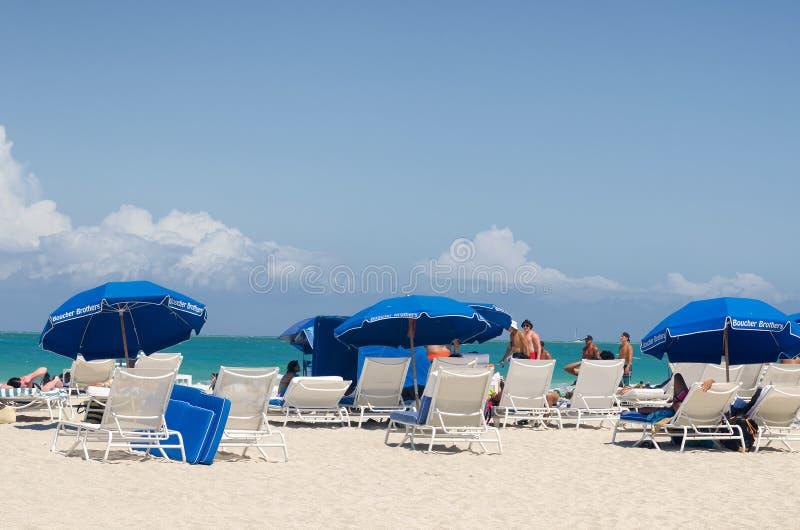 Miami Beach FL, los E.E.U.U. fotografía de archivo libre de regalías