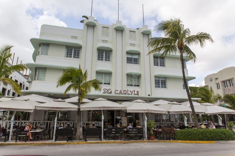 Miami Beach Florida stockbilder