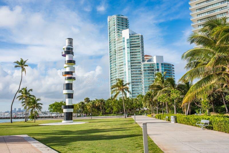 Miami Beach, Florida. royalty free stock photos
