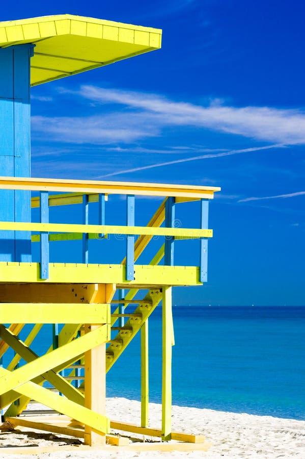 Miami Beach, Florida, EUA fotografia de stock