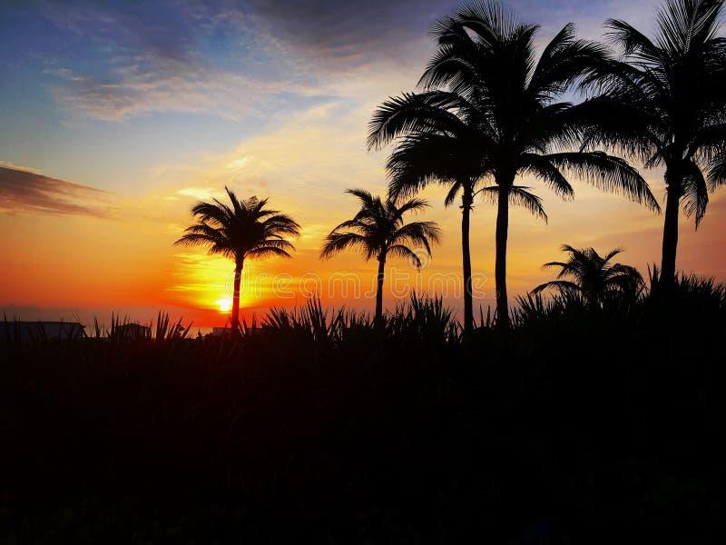 Miami Beach , Florida , USA. Travel, City, , Sunrise , Moment , Clouds , Landscape , southbeach , beach stock photography