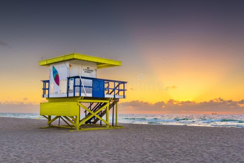 Miami Beach, Floride, États-Unis photographie stock libre de droits