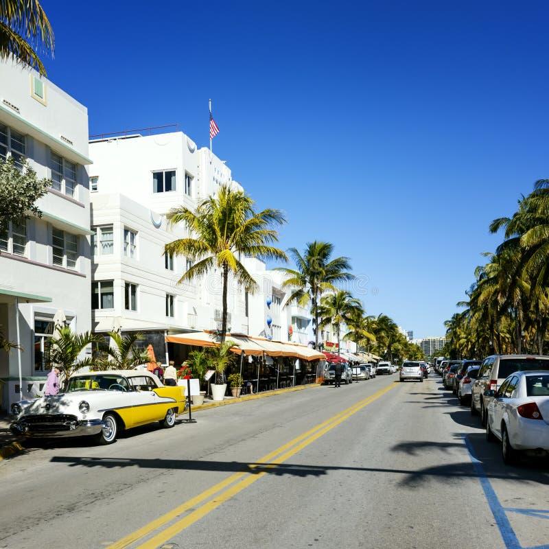 Miami Beach, Floride, USA lizenzfreies stockbild