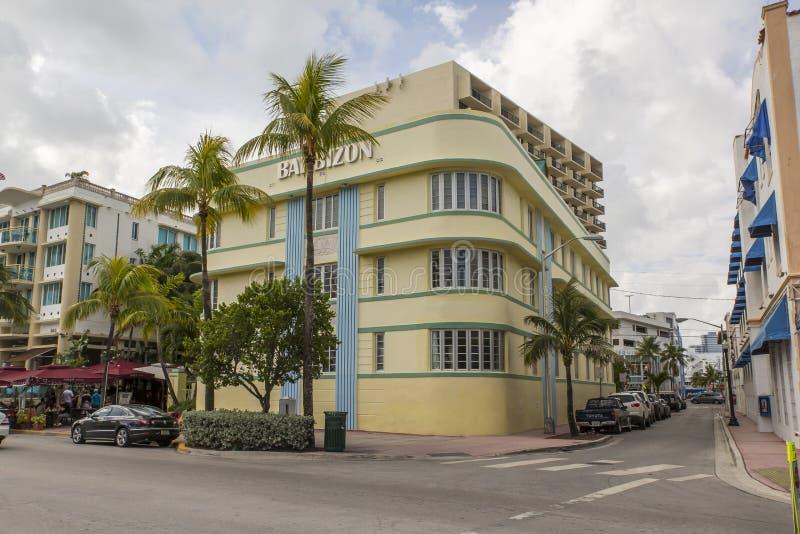 Miami Beach la Florida fotos de archivo libres de regalías