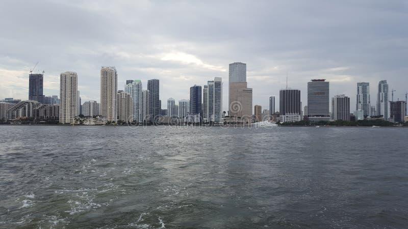 Miami céntrica imagenes de archivo