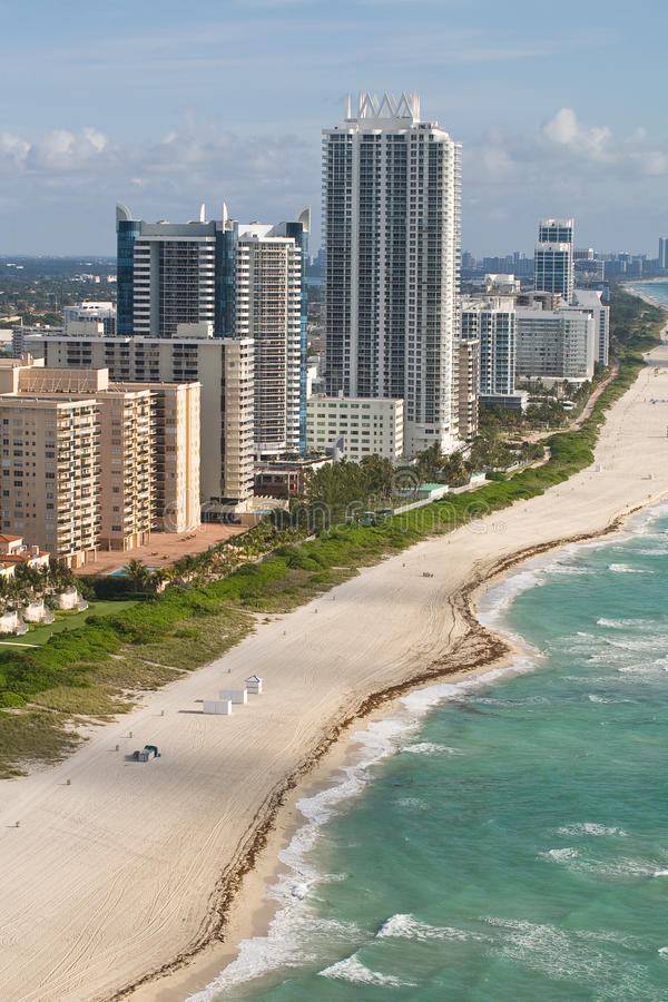 Download Miami Condo's stock image. Image of surf, sand, people - 24812191