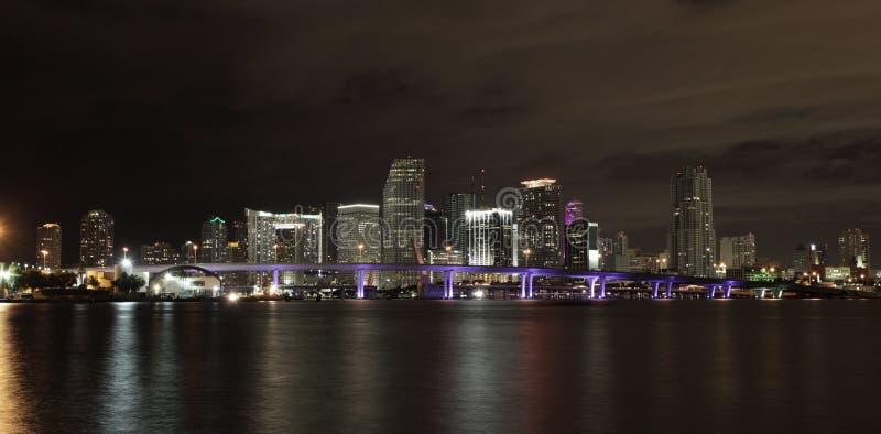 Miami da baixa foto de stock