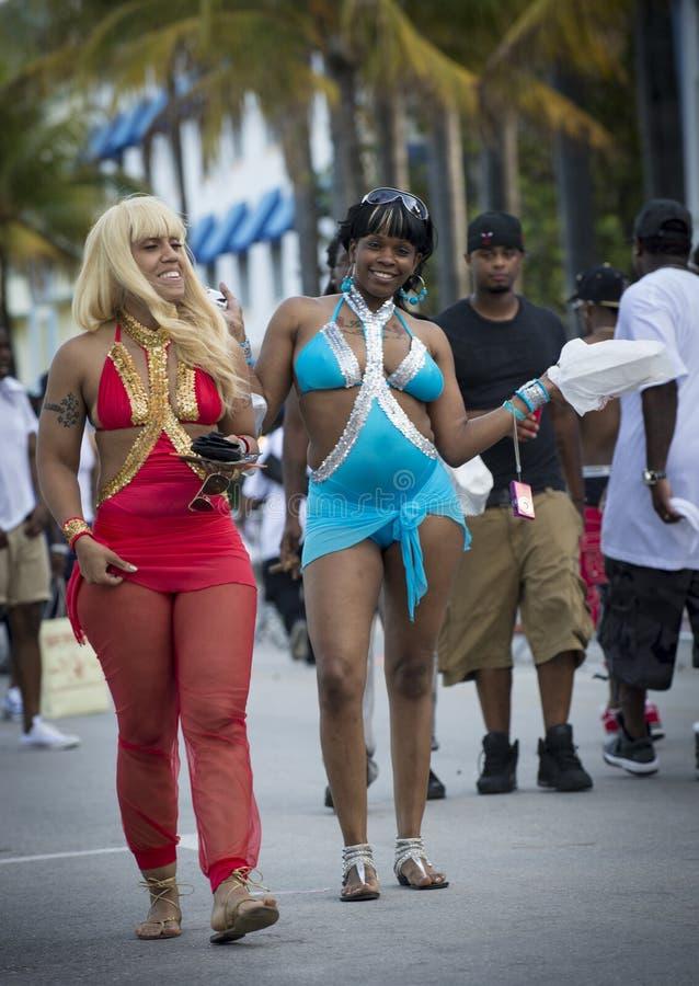 Download Meninas felizes em Miami imagem de stock editorial. Imagem de verão - 29838104