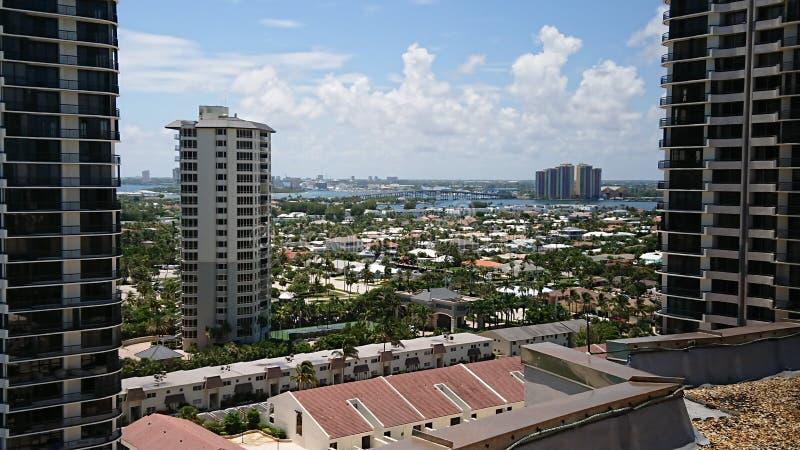Miami di New York fotografia stock