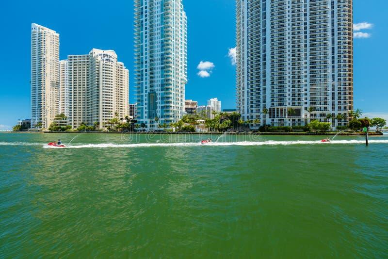 Miami du centre photos stock