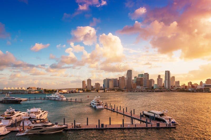 Miami du centre, la Floride images stock