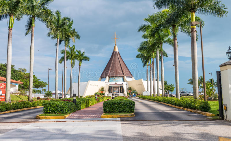 MIAMI, FL - FEBRUARy 23, 2016: Santuario Nnacional De La Ermita stock photos