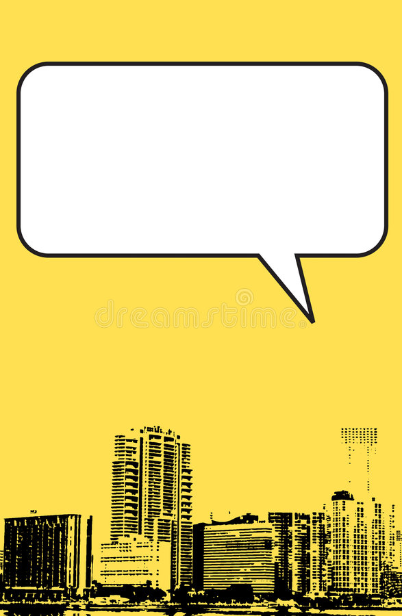 Miami Florida grunge style graphic in yellow