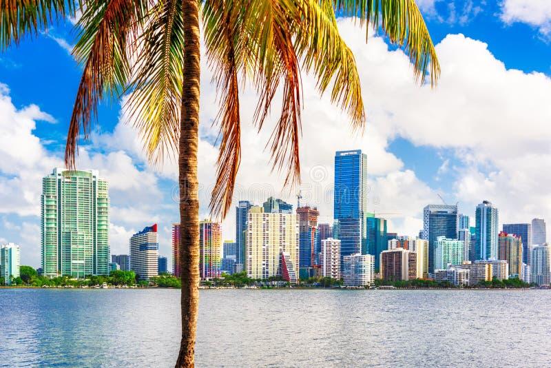 Miami, Florida, Horizon stock fotografie