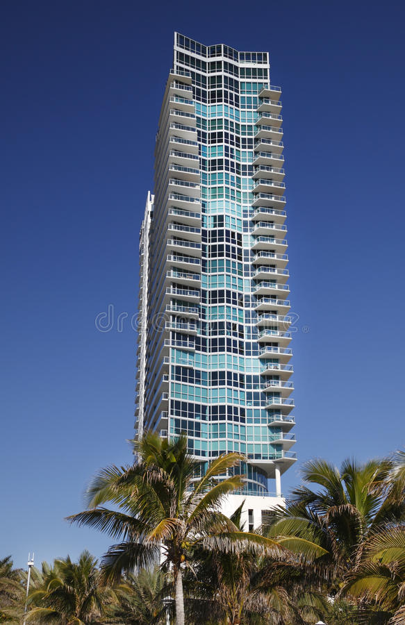 Miami Florida Hotel Stock Photography
