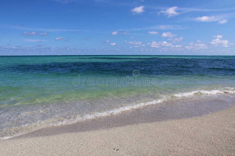 Download Miami Florida Ocean View stock image. Image of wave, clouds - 12057483