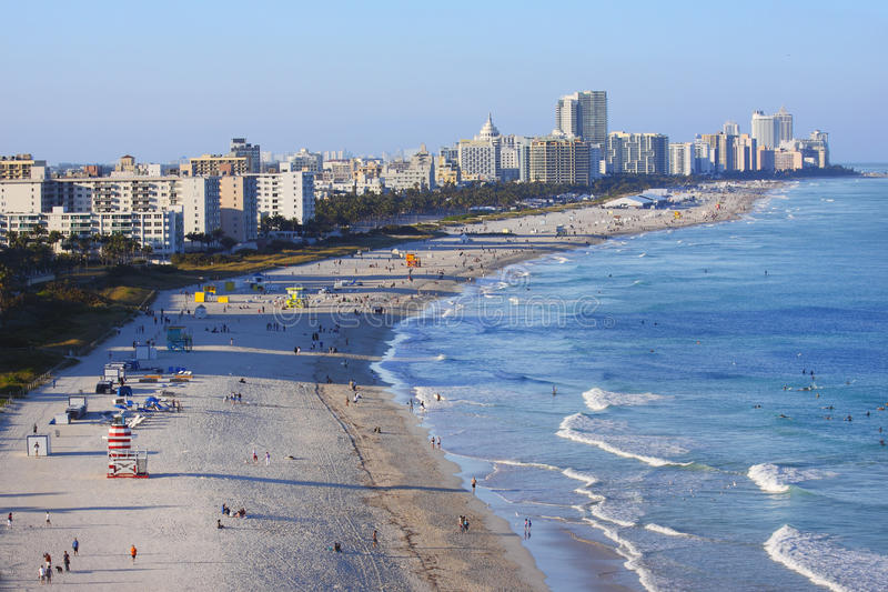 Download Miami Florida South beach editorial stock image. Image of south - 18956384