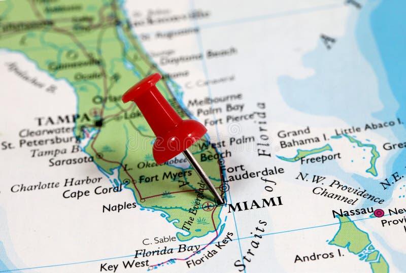 Miami in Florida, USA royalty free stock photo