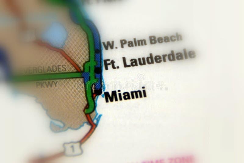 Miami, Florida - Vereinigte Staaten stockfotos