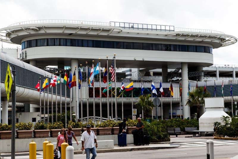 Miami-Flughafen lizenzfreie stockfotografie
