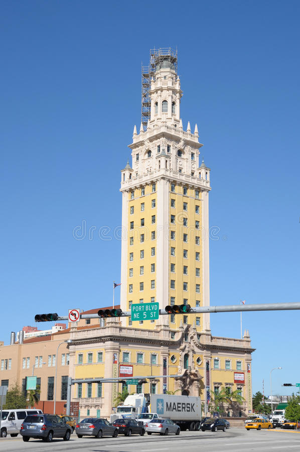 Miami Freedom Tower Editorial Stock Image