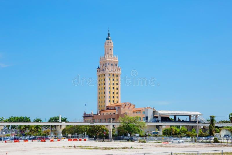 Miami Freedom Tower royalty-vrije stock fotografie