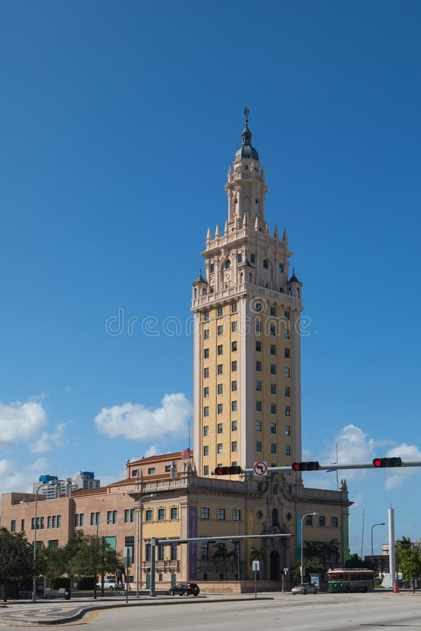 Miami Freedom Tower stock photo
