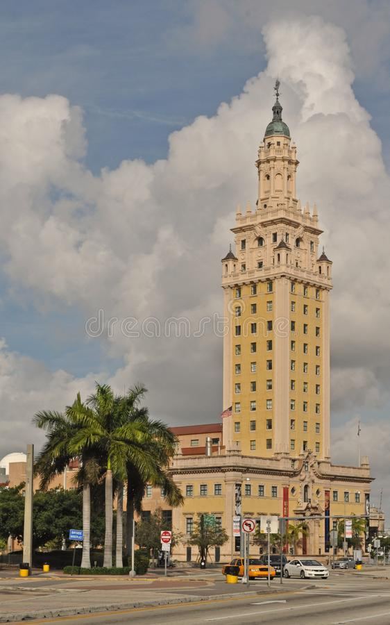 Miami Freedom Tower royalty-vrije stock foto