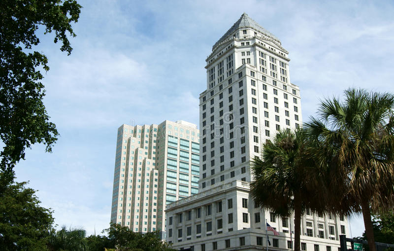 Miami High Rise royalty free stock image