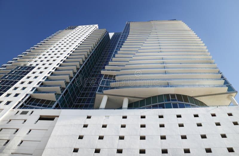 Miami hotel royalty free stock photos