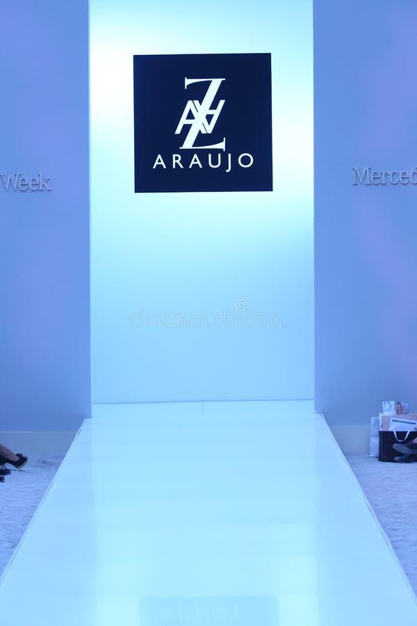 MIAMI - JULY 21: General view of runway at AZ Araujo Swimwear collection royalty free stock images