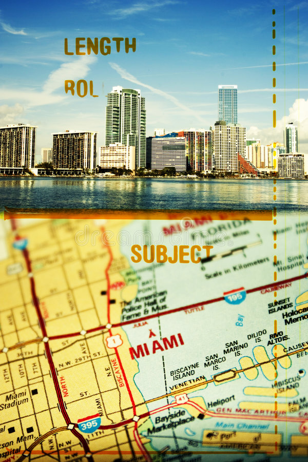 Miami la Florida fotos de archivo libres de regalías