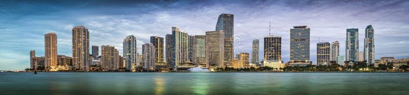 Miami linia horyzontu fotografia royalty free