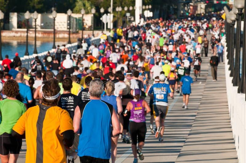 Miami-Marathon stockbilder